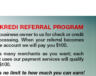 Checkredi Referral Program